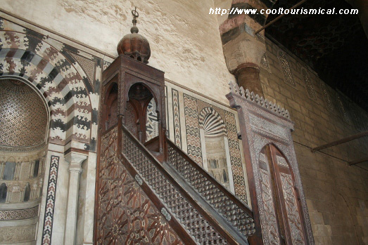 Al-Nasir Muhammad Mosque Citadel Cairo