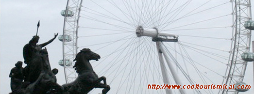 Boadicea Queen of the Iceni Tribe, London Monument