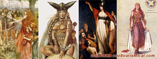 Boadicea England Barbarian Leader